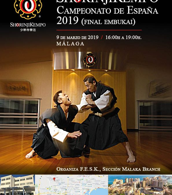 Final del Campeonato Nacional de embus de Shorinji Kempo