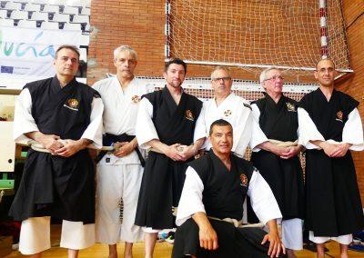 Gala benéfica de artes marciales de Málaga 2019 - Shorinji Kempo