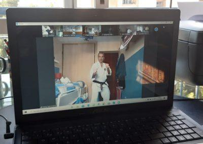 Shorinji Kempo Primera clase práctica Fesk online en ZOOM