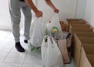 maraton solidario artes marciales donando alimentos Las Palmas