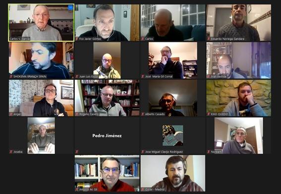 Reunión jefes de sección FESK