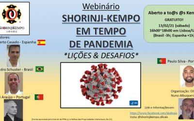 Seminario on-line sobre el Shorinji Kempo en tiempos de pandemia