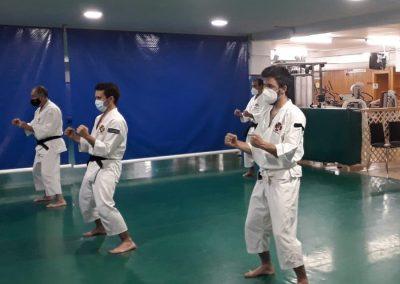 Nuevas secciones FESK comienzan la práctica