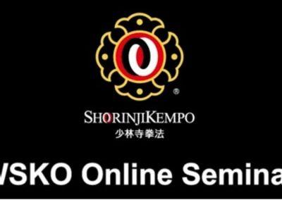 seminario online de Shorinji Kempo, impartido por WSKO